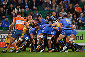 June 3rd 2017, NIB Stadium, Perth, Australia; Super Rugby; Force v Hurricanes;  The Western Force maul into the Hurricane forward pack