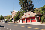 Austin's Firehouse and former Lander County Courthouse and now museum, along U.S. Highway 50, Austin, Nev.