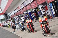 Termas De Rio Hondo (Argentina) 03/04/2016 - gara Moto GP / foto Luca Gambuti/Image Sport/Insidefoto<br />nella foto: Marc Marquez-Dani Pedrosa