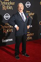 30 July 2018 - Burbank, California - Jim Cummings. Disney's 'Christopher Robin' Los Angeles Premiere held at Walt Disney Studios. <br /> CAP/ADM/FS<br /> &copy;FS/ADM/Capital Pictures
