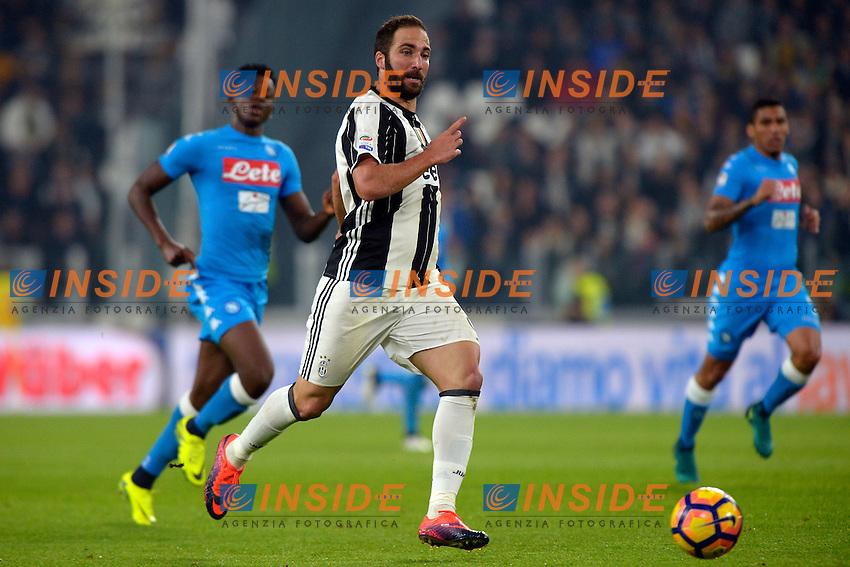 Gonzalo Higuain Juventus <br /> Torino 29-10-2016 Juventus Stadium Football Calcio Serie A 2016/2017 Juventus - Napoli . Foto Filippo Alfero Insidefoto