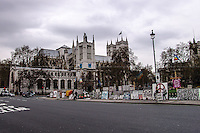 London & Londoners 2006 (Courtesy Marta D'Arcangelo) - Banksy in Parliament Sq.