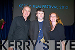 Dave Fanning Pictured at Kerry Film Festival awards at Saint Johns Church Ashe Street on Saturday. Student Shorts Marionette Director Sam Ranahan
