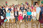 RETIRING: Joan O'Brien, Rusheen, Castlemaine (seated centre) having a wonderful time with friends and family at her retirement party, following 37 years in nursing, in The Kerins O'Rahillys GAA Club on Friday night.