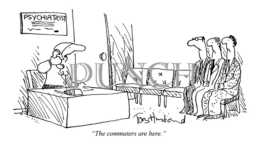 """The commuters are here."""