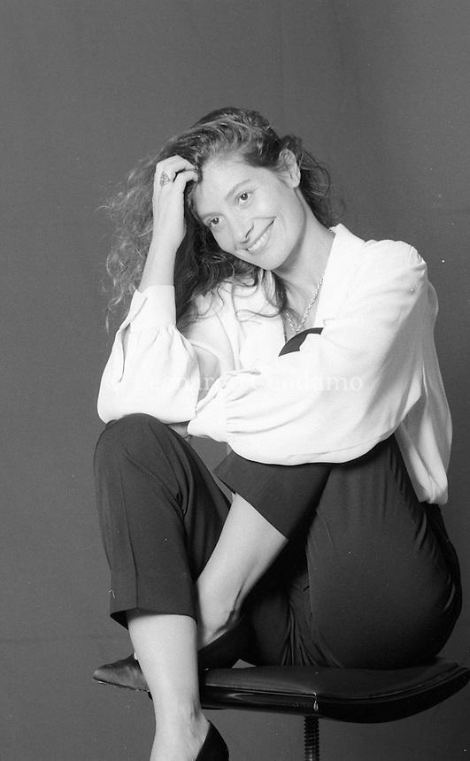 Assumpta Serna (born 16 September 1957) is a Spanish actress. She is known for her role in I, the Worst of All (1990) portraying famous Mexican religious . Assumpta Serna, nome d'arte di María Asunción Rodés Serna (Barcellona, 16 settembre 1957), è un'attrice spagnola. Viareggio 1991. Festival Europa del Cinema. © Leonardo Cendamo