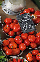 Europe/France/Rhône-Alpes/69/Rhône/Villefranche-sur-Saône: Le marché détail tomates
