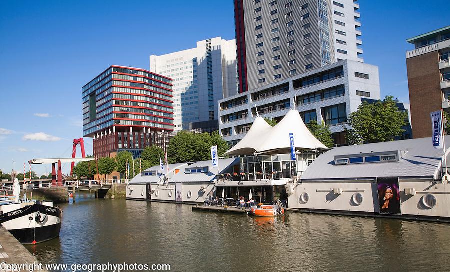 Modern architecture Wijnhaven, Rotterdam, Netherlands