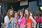 Scuba dice fans at Costal rocks are: Aishling Grimes, Lauren Kelliher, Ashley Murphy and Julieane Fitzpaterick