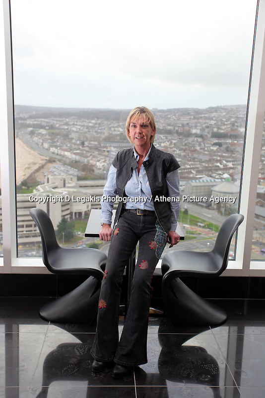 Pictured:<br /> Re: The new Penthouse restaurant on the top three levels of Meridian Quay, the highest building in Wales situated in Swansea Marina. Wednesday 25 November 2009<br /> Picture by D Legakis Photography / Athena Picture Agency, 24 Belgrave Court, Swansea, SA1 4PY, 07815441513