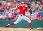 5 March 2016: Washington Nationals pitcher Stephen Strasburg on the mound during a Spring Training pre-season game against the Detroit Tigers at Space Coast Stadium in Viera, Florida. The Nationals defeated the Tigers 8-4 in Grapefruit League play. Mandatory Credit: Ed Wolfstein Photo *** RAW (NEF) Image File Available ***