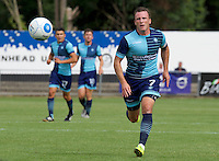 Garry Thompson of Wycombe Wanderers during the Friendly match between Maidenhead United and Wycombe Wanderers at York Road, Maidenhead, England on 30 July 2016. Photo by Alan  Stanford PRiME Media Images.