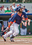 12 March 2014: Houston Astros infielder Jonathan Villar in action during a Spring Training game against the Washington Nationals at Osceola County Stadium in Kissimmee, Florida. The Astros rallied in the bottom of the 9th to edge out the Nationals 10-9 in Grapefruit League play. Mandatory Credit: Ed Wolfstein Photo *** RAW (NEF) Image File Available ***