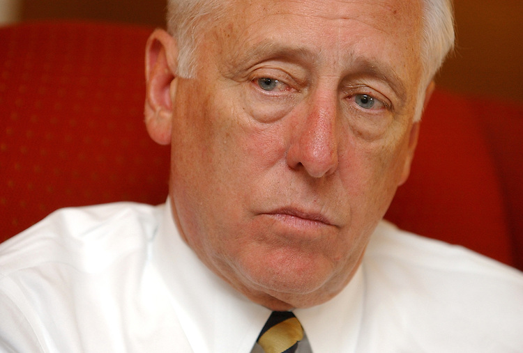 House Minority Whip Steny Hoyer, D-Md., is interviewed by Roll Call in his Capitol office.