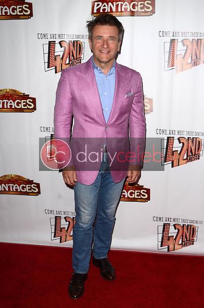 "Robert Herjavic<br /> at the ""42nd Street"" Opening, Pantages, Hollywood, CA 05-31-16<br /> David Edwards/Dailyceleb.com 818-249-4998"