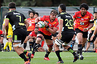 Wimpie VAN DER WALT (ヴィンピー・ファンデルヴァルト) in action during the Hurricanes Hinters v Wolfpack at Jerry Collins Stadium, Porirua, New Zealand on Friday 29 March 2019. <br /> Photo by Masanori Udagawa. <br /> www.photowellington.photoshelter.com