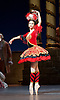 The Flames of Paris <br /> Bolshoi Ballet <br /> at The Royal Opera House, Covent Garden, London, Great Britain <br /> 5th August 2016 <br /> rehearsals<br /> <br /> <br /> Anna Tikhomirova as Mireille de Poitiers an actress <br /> <br /> <br /> <br /> <br /> Photograph by Elliott Franks <br /> Image licensed to Elliott Franks Photography Services