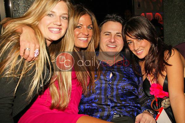 Katie Whicker, Bridgetta Tomarchio, Gavin Maloof and Myriam Touimer