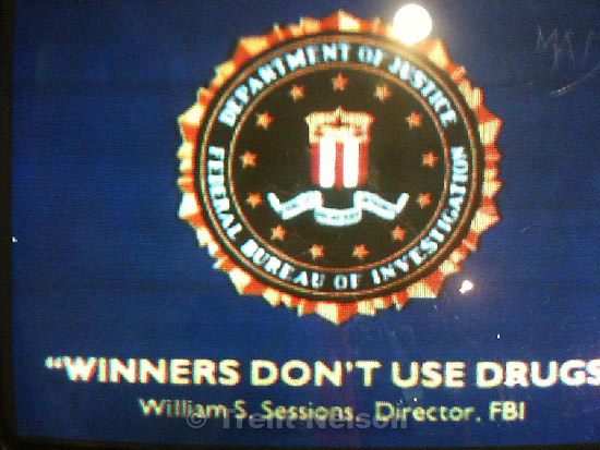 . Friday, October 30 2009.weber state. lethal enforcers videogame. winners don't use drugs. william sessions, fbi