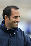 UCLA assistant coach Joe Mallia. The University of Portland Pilots defeated the UCLA Bruins 4-0 to win the NCAA Division I Women's Soccer Championship game at Aggie Soccer Stadium in College Station, TX, Sunday, December 4, 2005.