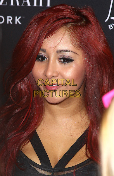 Nicole Snooki Polizzi.Nicole Snooki Polizzi unveils Snooki by Nicole Polizzi at the 2013 Consumer Electronics Show at the Las Vegas Convention Center, Las Vegas, NV, USA..January 9th, 2013.headshot portrait black .CAP/ADM/MJT.© MJT/AdMedia/Capital Pictures.