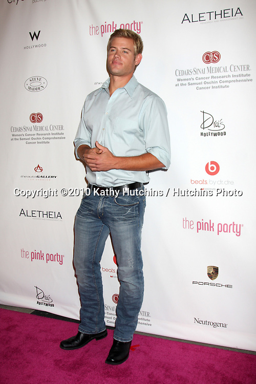 LOS ANGELES - SEP 25:  Trevor Donovan arrives at the Pink Party 2010 at W Hollywood Hotel on September 25, 2010 in Los Angeles, CA