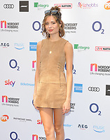 Nina Nesbitt at the Nordoff Robbins O2 Silver Clef Awards 2018, Grosvenor House Hotel, Park lane, London, England, UK, on Friday 06 July 2018.<br /> CAP/CAN<br /> &copy;CAN/Capital Pictures