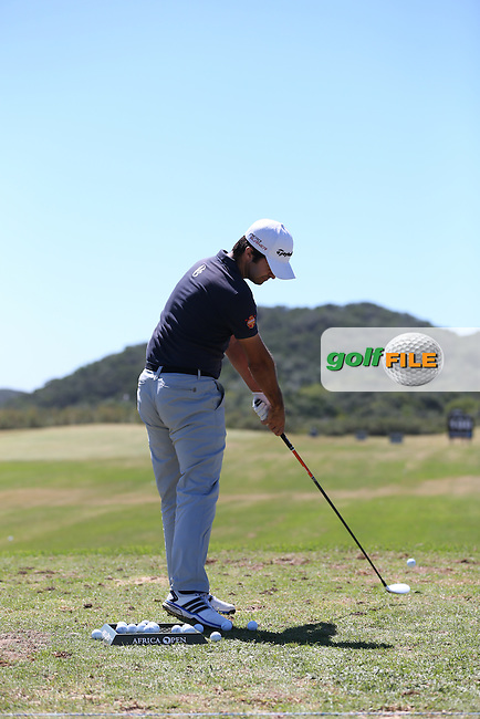 Jorge Campillo (ESP) on the driving range ahead of the Africa Open 2015 at the East London Golf Club, East London, Eastern Cape, South Africa. Picture:  David Lloyd / www.golffile.ie. 03/03/2015
