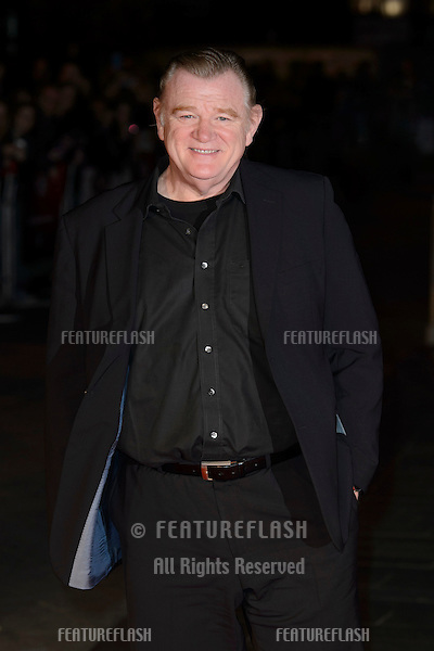 Brendan Gleeson at the BFI London Film Festival premiere of &quot;Suffragette&quot; at the Odeon Leicester Square, London.<br /> October 7, 2015  London, UK<br /> Picture: Dave Norton / Featureflash