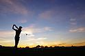 Ryo Ishikawa (JPN),.JANUARY 31, 2013 - Golf :.The ambiance shot. Ryo Ishikawa of Japan practices after his first round of the Waste Management Phoenix Open at TPC Scottsdale in Scottsdale, Arizona, United States. (Photo by Yasuhiro JJ Tanabe/AFLO)