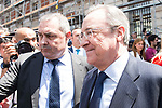 Real Madrid's president Florentino Perez leaves Seat of Government in Madrid, May 22, 2017. Spain.<br /> (ALTERPHOTOS/BorjaB.Hojas)