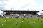 nph00001  Uebersicht, leere Raenge im Millerntor-Stadion, Gegengerade<br /> Hamburg, 17.05.2020, Fussball 2. Bundesliga, FC St. Pauli - 1. FC Nuernberg <br /> <br /> Foto: Tim Groothuis/Witters/Pool//via Kokenge/nordphoto