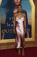 "HOLLYWOOD, CA - FEBRUARY 13: Andrea Bordeaux, at the Premiere Of Starz's ""Outlander"" Season 5 at HHollywood Palladium in Hollywood California on February 13, 2020. Credit: Faye Sadou/MediaPunch"