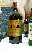 Chateau Brane Cantenac, margaux, Medoc, 1986 in double magnum. Bordeaux, France