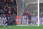 11.03.2015 Barcelona.UEFA champions League. Rounf 0f 16 2nd leg. Picture show Neymar and Leo Messi durring game between FC Barcelona against Manchester city at Camp Nou