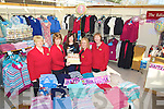 CELEBRATIONS: The management & staff of of Edinburgh Woollen Mills, Ballyseedy Garden Centre, Tralee who marked the 1st year in business on Saturday, L-r:Joan Walsh, Helena Foran, Eileen Pitcherlane, Jennifer O'Leary and Joan Healy, (missing were, Karen Lenihan and Kay Wilson). ................................. ....