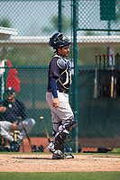 New York Yankees Santiago Nessy (37) during a minor league Spring Training game against the Pittsburgh Pirates on March 26, 2016 at Pirate City in Bradenton, Florida.  (Mike Janes/Four Seam Images)