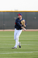 Alex White. Cleveland Indians spring training workouts at their complex in Goodyear, AZ - 03/06/2010.Photo by:  Bill Mitchell/Four Seam Images.