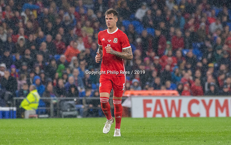 Cardiff - UK - 9th September :<br />Wales v Belarus Friendly match at Cardiff City Stadium.<br />Joe Rodden of Wales.<br />Editorial use only