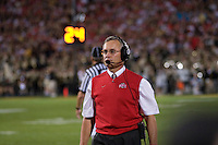 06 October 2007: Ohio State head coach Jim Tressel..The Ohio State Buckeyes defeated the Purdue Boilermakers 23-7 at Ross-Ade Stadium, West Lafayette, Indiana.