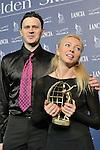 20/10/2012 - Grandi nomi del pattinaggio di figura su ghiaccio, si esibiscono per il Golden Skate 2012 al Palavela di Torino, il 20 ottobre 2012. Tatiana Totmianina - Maxim Marinin