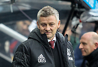 Man Utd manager Ole Gunnar Solskjaer during the Premier League match between Newcastle United and Manchester United at St. James's Park, Newcastle, England on 6 October 2019. Photo by J GILL / PRiME Media Images.