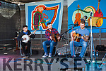 "Fleadh By The Feale Junior Bones Competition held Sunday afternoon Entertainment was performed by local group ""Fugazi"" prior to the Bones competition. Conor Horgan, David Healy & Brian Holmes."