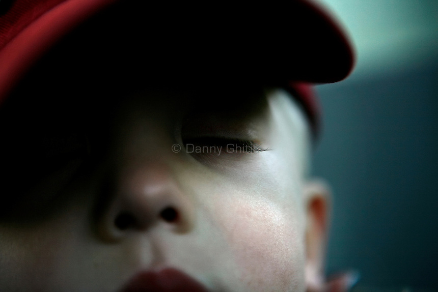 Boy with long eyelashes