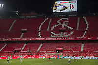 11th June 2020, Sevilla, Spain;  La Liga Spanish football league. Sevilla FC versus Real Betis. Resumption of football matches in Spain after three months postponed by the global pandemic of COVID-19.