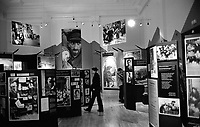 POLAND, 05.2002, Warsaw..The Jewish Historical Institute features permanent exhibitions about the Warsaw Ghetto, as well as art and photographs. © Bruno Cogez / Est&Ost Photography