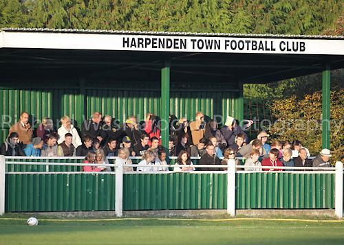 Harpenden Town Football Club vs St Albans City Reserves Football Club  19th November 2011..Photo: Richard Washbrooke Photography 120th Anniversary Celebrations