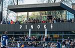 AMSTELVEEN - clubhuis van Pinoke met veel toeschouwers, tijdens de competitie hoofdklasse hockeywedstrijd heren, Pinoke-Amsterdam (1-1)   COPYRIGHT KOEN SUYK