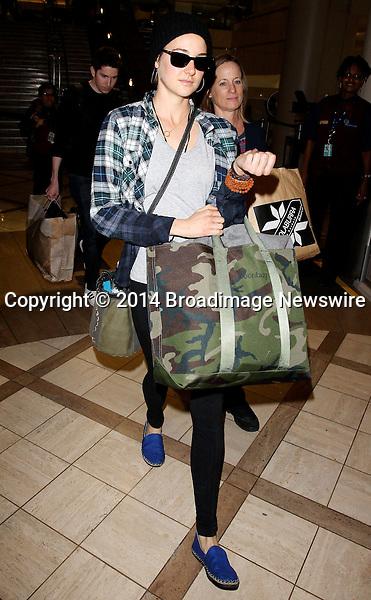 Pictured: Leelee Sobieski<br /> Mandatory Credit &copy; CALA/Broadimage<br /> Leelee Sobieski arrives at the Los Angeles International Airport<br /> <br /> 1/21/14, Los Angeles, California, United States of America<br /> <br /> Broadimage Newswire<br /> Los Angeles 1+  (310) 301-1027<br /> New York      1+  (646) 827-9134<br /> sales@broadimage.com<br /> http://www.broadimage.com