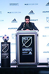 PHILADELPHIA, PA - JANUARY 19: Joao Moutinho (POR) was taken with the first overall pick by Los Angeles Football Club. The MLS SuperDraft 2018 presented by adidas was held on January 19, 2018 at the Pennsylvania Convention Center in Philadelphia, PA.